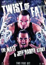 WWE - Twist Of Fate - The Matt & Jeff Hardy Story (DVD, 2008, 2-Disc Set)