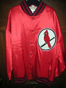 NWT., ST. LOUIS CARDINALS, CHRIS CARPENTER SIGNED JACKET, SIZE 56, MITCHELL&NESS