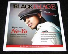 Las Vegas Black Image Magazine June 2012 Issue Ne-Yo Exclusive Rare!
