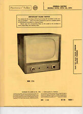 Sams PhotoFact TV GENERAL ELECTRIC MODELS 21C115, 21T14 (Ch. 21TF)