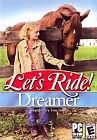Let's Ride Dreamer - Horse Pony Windows Pc Cd-rom Computer Game -