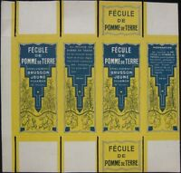 1930 French Art Deco Box: Fecule Pomme de Terre- Potato