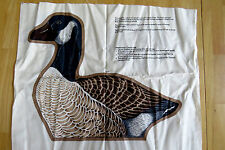 CANADA GOOSE PRINTED Fabric pillow  panel by DESIGN CRANSTON PRINT WORKS CO.