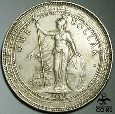 1899 Chinese British Silver (.900) Trade Dollar Coin KM# T5