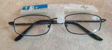 Reading Glasses +1.00 Nash Pharm Gunmetal Frame Unisex