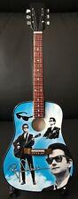 Roy Orbison Tribute Miniature Accoustic Guitar (UK SELLER)