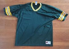 Vintage Green Bay Packers Champion Jersey Size 52 Blank Green 90s XXL MENS