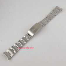 20mm 316L stainless steel solid parnis bracelet fit 40mm Sub Homage mens watch