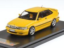PremiumX Saab 9-3 Viggen 1998 Yellow 1:43 PRD432