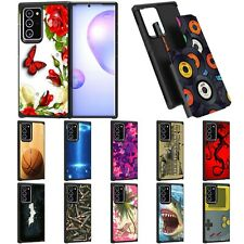 For Samsung Galaxy Note 20 Ultra (6.9) Hybrid Dual Layer Protective Slim Case