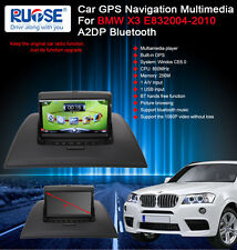 A2DP Bluetooth GPS Navigation Satnav Headunit Stereo For BMW X3 E83 2004-2010
