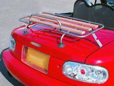Mazda MX5 Ml 1/2 Rack de Arranque Coche Clásico Aluminio Y Madera