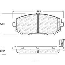 New Centric 2-wheel set Brake Pad Front Sedan For Subaru Impreza 102.09290