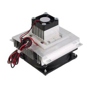 Set 12V Thermoelectric Cooler Peltier Module Cooling System DIY Kit Heatsink Pro