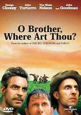 O BROTHER WHERE ART THOU - DVD - REGION 2 UK