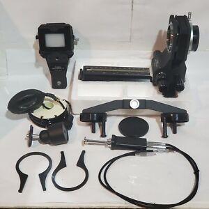 Canon Auto Bellows w/ Duplicator 35 Box and Accessories