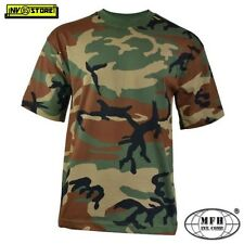 T-shirt MFH US Woodland in Taglia S (00103ts)