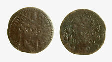 pcc2137_98) Gubbio. Innocenzo X (1644-1655). Mezzo baiocco A. VIII. Munt. 121