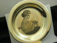 Franklin Mint St.Silver Mother's Day Plate #15535