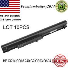 New listing Lot 10Pcs Oa04 Oa03 Battery for Hp 740715-001 746458-421 746641-001 751906-541