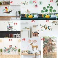 Mobile Creative Wall Affixed With Decorative Wall Window Decoration Sticker Lot