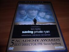 Saving Private Ryan (Dvd, 1999, Widescreen Special Limited Ed.) Tom Hanks Used