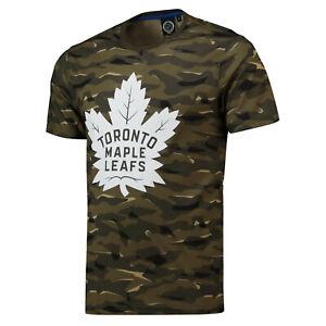 NHL T-Shirt Toronto Maple Leafs Digi Camo Camouflage Ice Hockey T-Shirt