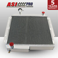 ASI 4Cores 62MM Aluminum Radiator For 74-84 Toyota Landcruiser BJ40 BJ42 MT