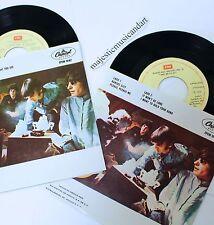 """THE BEATLES OLDIES VOL I AND II 2X EP 7"""" VINYL 1967 EMI PRESS EX+ RARE"""
