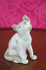 Charming Vintage  Porcelain Cat Figurine made in Spain