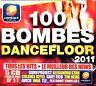 100 BOMBES DANCEFLOOR 2011 - 100 TITRES - 5 CD COMPILATION