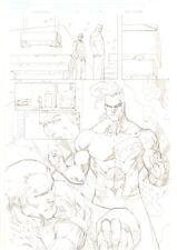 Deadpool #51 p.17 - Cool Daken Splash - 2012 Signed art by Ale Garza Comic Art