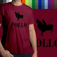Pollo (Chicken) Polo Parody Funny Humorous Cool Awesome Mens Unisex Tee T-Shirt