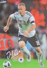 JOSHUA KIMMICH - A3 Poster (42 x 28 cm) - DFB Fußball Clippings Fan Sammlung NEU
