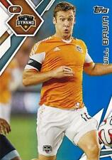 2015 Topps Major League Soccer Blue Base Parallel Card Numbered to /50 - (26-50)