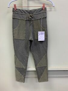 Rare Free People Movement Active Kyoto Cropped Soft Leggings Green $128 XS