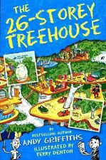 7+ Story Book - Treehouse Book: THE 26 STOREY TREEHOUSE by Andy Griffiths - NEW