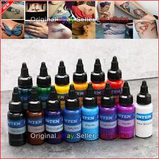 INTENZE Tattoo Ink Set 14 Colors Set 1oz 30ml 100% Good Quality FREE SHIPPING