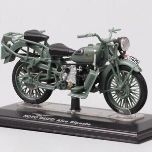 1/24 scale Moto Guzzi ALCE Biposto Moose Military bike toy motorcycle model 1938