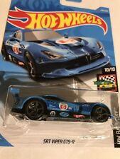 SRT Viper GTS-R #124 Blue Race Day 2019 Hot Wheels Case F