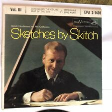 Sketches By Skitch Vol.3  45rpm Vintage Vinyl Record