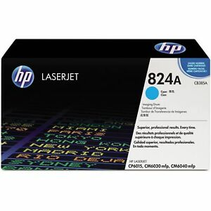 Genuine HP 824A Cyan Original LaserJet Toner Cartridge (CB381A)