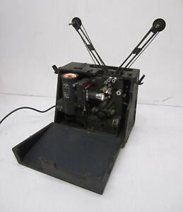 Vtg c1940s Victor Animatograph Animatophone 16mm Film Movie Cine Projector Sound
