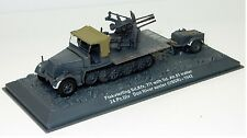 Flakvierling Sd.Kfz.7/1 and Sd.Ah.51 Trailer 24.Pz.Div Don River 1942 1:72 Scale