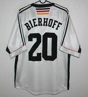 Vintage Germany National Team home shirt 98/00 #20 Bierhoff Adidas Size L