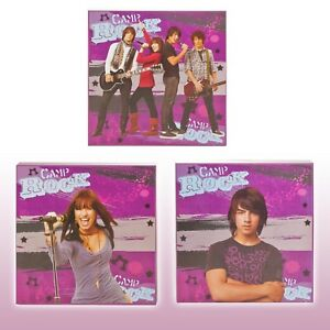 Canvas Wall Art Picture Photo Giclee Kids Disney Camp Rock Poster Print 60x20cm