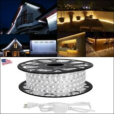 80ft 5050 SMD LED Strip Rope Tape Lights Waterproof Bright Glow Outdoor Home USA