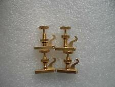 12 PCs Quality British Hill style Violin Fine tuner Gold Color for 3/4 to 4/4
