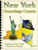 NY Onondaga County New York 1841 Barber history RP Syracuse Salina Erie Canal