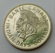 1970 Royal Canadian Mint Canada Banff Indian Days Trade Dollar
